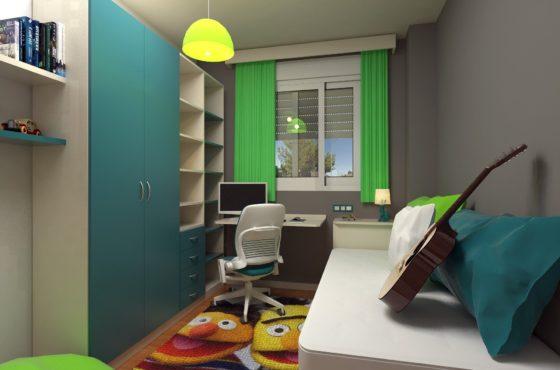 Cómo aprovechar el espacio de tu dormitorio